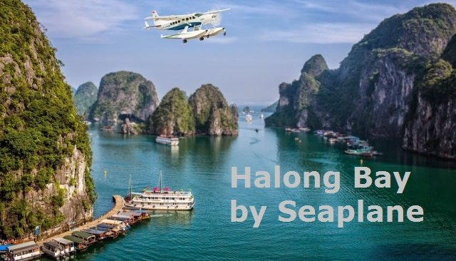 HALONG BAY SEA-PLANE (Day Tour)
